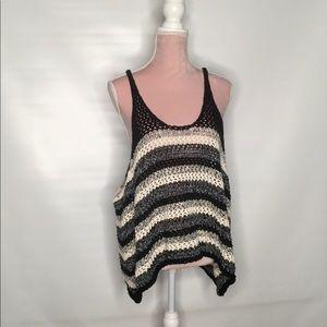 Zara chunky oversized vest.